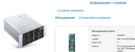 Информация о сервере