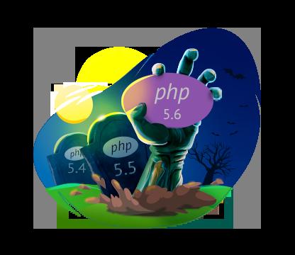 Устаревшие версии PHP